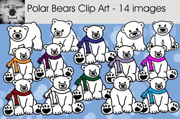 Polar Bears Clip Art - 14 Images