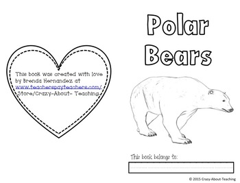 Polar Bears Close Read & Informative Writing
