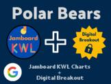 Polar Bears Digital Bundle (Jamboard KWLs, Digital Breakou