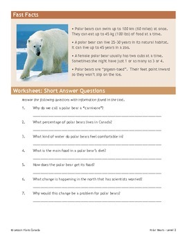 Polar Bears (ESL 2)