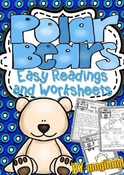 Polar Bears Easy Readings and Printables
