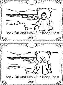 Polar Bears Emergent Reader