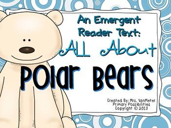 Polar Bears Emergent Reader Text