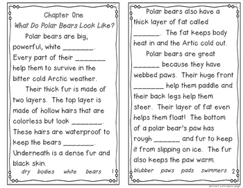FREE Polar Bears Instant Reading Lesson