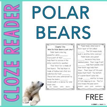 FREE Polar Bears Instant Reading Lesson