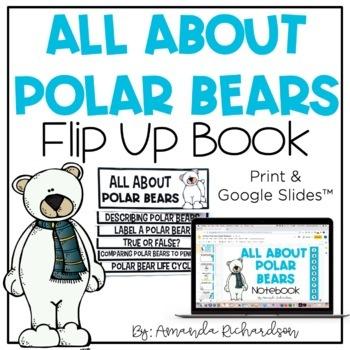 Polar Bears Flip Up Book