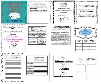 Second Grade Expository Topic Sentences Unit