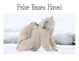 Polar Bears HAVE Guided Reading Books - Teacher Copy and S