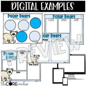Polar Bears: Informational Interactive Read-Aloud Lesson Plans and Activities