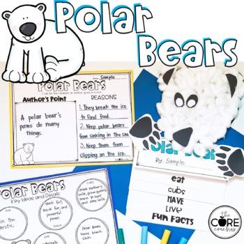 Polar Bear Informational Writing Teaching Resources Teachers Pay