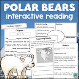 POLAR BEARS Activity Book Interactive Reading Comprehension