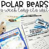 Polar Bears | Polar Bear Activities | Nonfiction Unit | ELA