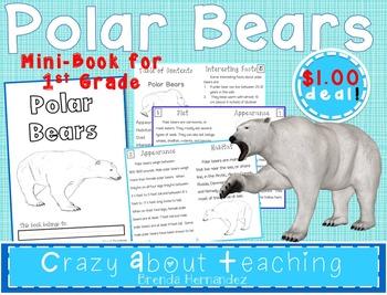 Polar Bears Mini-Book