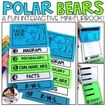 Polar Bears Mini-Flip