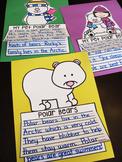 Polar Bears Writing Craft Activities