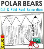 Polar Bears Nonfiction Facts Foldable Accordion