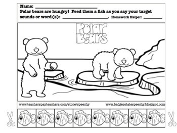 Polar Bears:  Open-ended Articulation or Reinforcement Activity