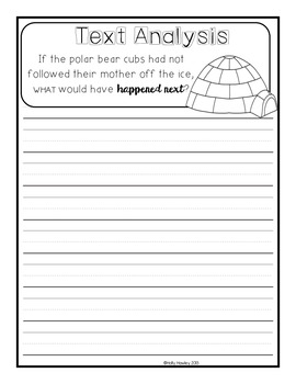 Polar Bears Past Bedtime- A Magic Tree House Guided Reading Activity