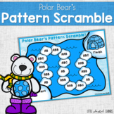 Polar Bear's Pattern Scramble {Differentiated Math Game}