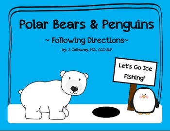 Polar Bears & Penguins ~ Following Directions!