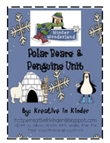 Polar Bears & Penguins Unit: Literacy & Math Centers