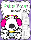 Polar Bears Preschool Printables