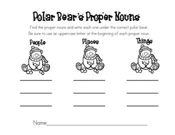 Polar Bear's Proper Nouns