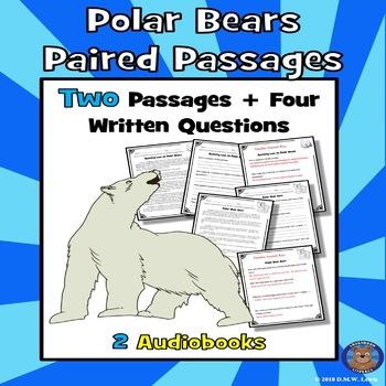 Polar Bears Reading Comprehension Polar Bear Passage Winter Passages