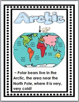 Polar Bears Science & Literacy - Polar Bears Unit - Polar Bears Literacy