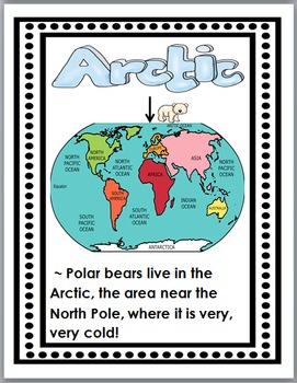 Polar Bears Science & Literacy  - Polar Bears Nonfiction Unit