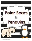 Polar Bears and Penguins Activity Packet