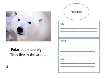 Polar Bears and Penguins Readers