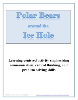 Polar Bears around the Ice Hole Activity