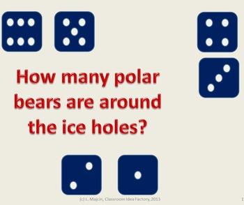 Polar Bears around the Ice Hole Activity PowerPoint Package