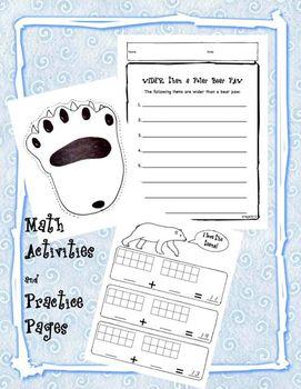 Polar Bears for Kindergarten and First Grade -  mini-unit