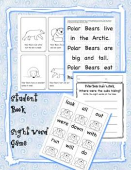 Polar Bears for Kindergarten and First Grade -  mini-unit