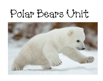 Polar Bears unit to be used with a smartboard