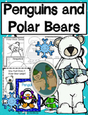 Penguins vs. Polar Bears!      Science, Literacy, and Craftivities Mega Pack