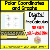 Polar Coordinates and Graphs for Google Forms™ Distance Learning