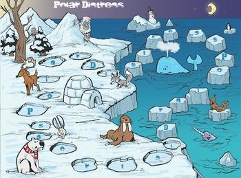 Polar Distress Game: Investigate rates of change