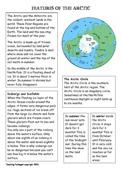 Polar Environments - Arctic and Antarctica