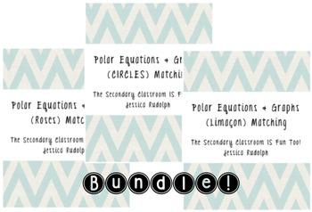 Polar Equations & Graphs Matching Bundle!