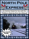 North Pole Express Christmas Activity Bundle - Color & BW Versions