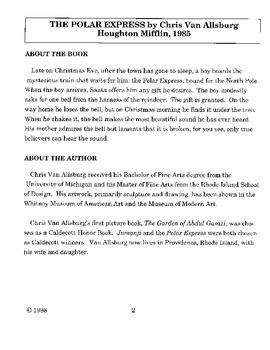 Polar Express Literature Guide