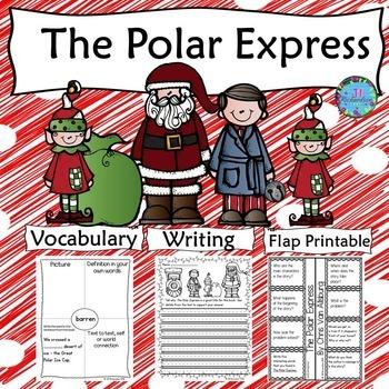 The Polar Express Flapbook and Writing