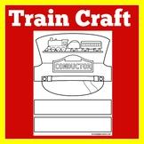 Trains | Preschool Kindergarten 1st Grade | Craft Activity