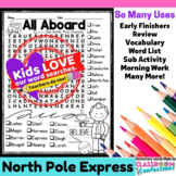 Polar Express Activity: Word Search