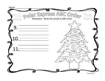 Polar Express ABC Order