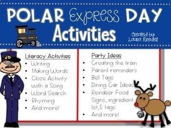 Polar Express Party & Literacy Activities