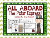 Polar Express Math and Literacy Printables